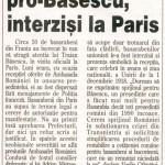 Articolul din ziarul Ziua de la 25 noiembrie 2005