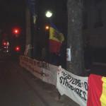 Miting în faţa Ambasadei Rusiei din Paris.2
