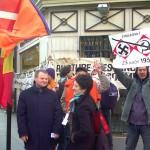 Miting în faţa ambasadei RMoldova din Paris,3