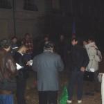 Miting în faţa Ambasadei Rusiei din Paris.4