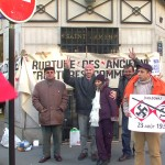 Miting în faţa ambasadei RMoldova din Paris,4