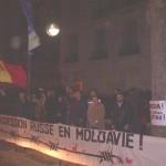 Miting în faţa Ambasadei Rusiei din Paris.6