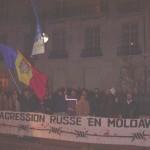 Miting în faţa Ambasadei Rusiei din Paris.7