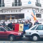 Miting în faţa ambasadei RMoldova din Paris,7