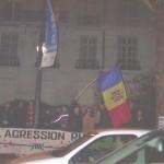 Miting în faţa Ambasadei Rusiei din Paris.8