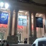 La deschiderea expoziției lui Petru Băț la Grand Palais